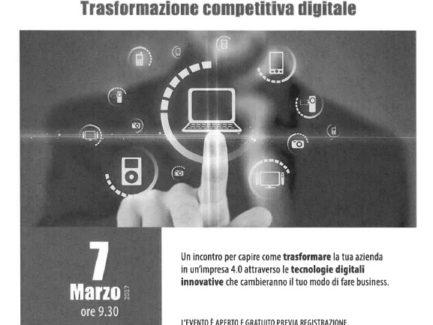 IMPRESA 4.0 TRASFORMAZIONE COMPETITIVA DIGITALE 7 MARZO 2017 L'AQUILA
