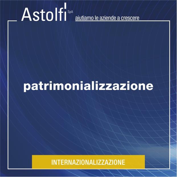 PATRIMONIALIZZAZIONE