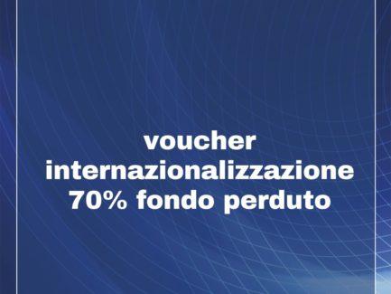 REGIONE LAZIO: Voucher Internazionalizzazione -  Contributo a fondo perduto fino al 70%