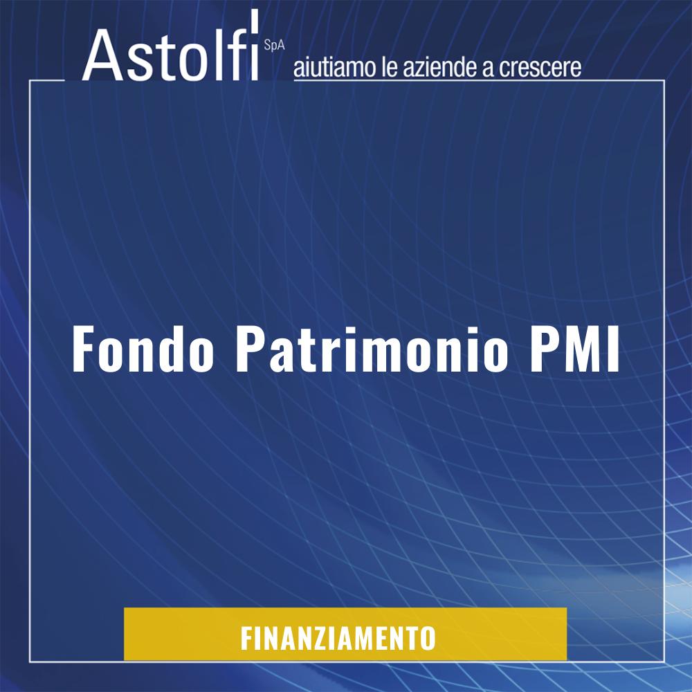 Il Fondo Patrimonio PMI